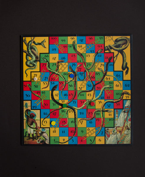 Knox and Floyd Classic Games Snakes and Ladders
