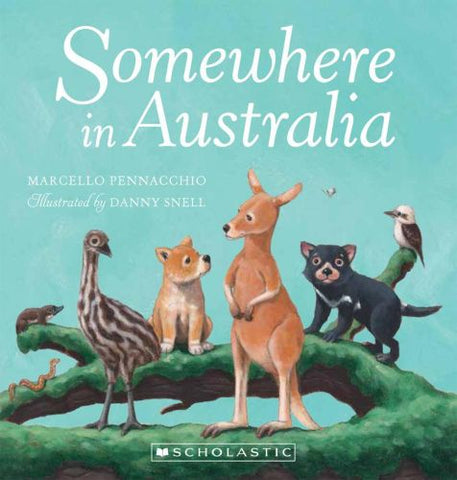 Somewhere in Australia Board Book