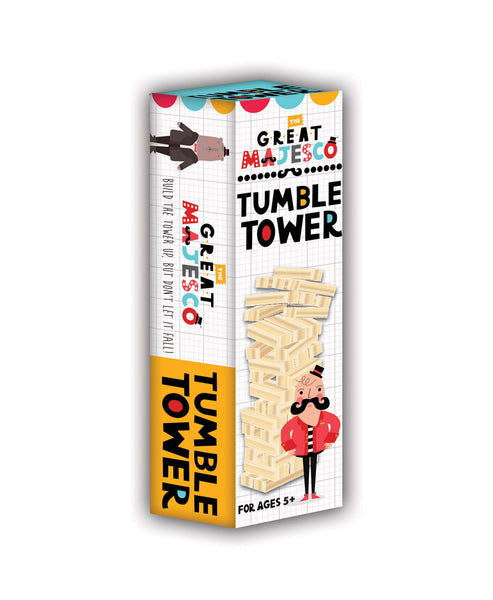 The Great Majesco Tumble Tower