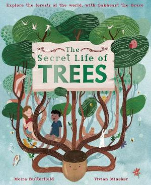 The Secret Life of Trees Hardback Book