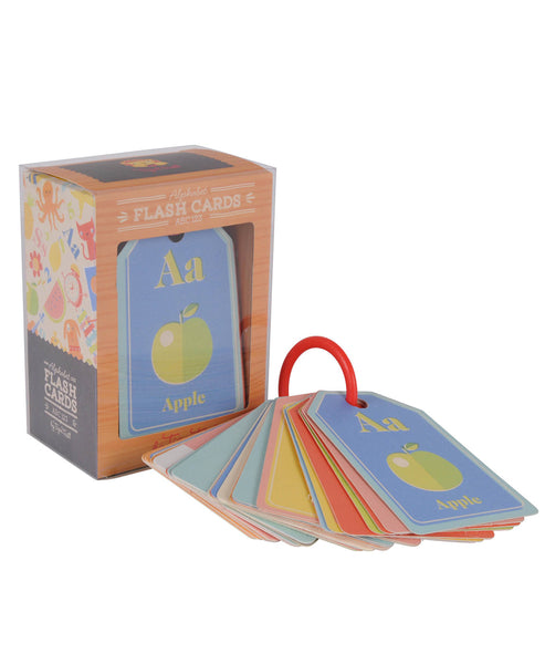 Tiger Tribe ABC 123 Flash Cards