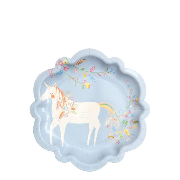 Meri Meri Magical Princess Small Plates (unicorn)