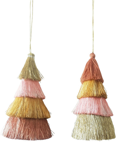 Urban Christmas Tree Tassel Hanging Decoration