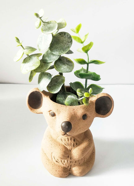 Urban Koala Planter: Natural Small