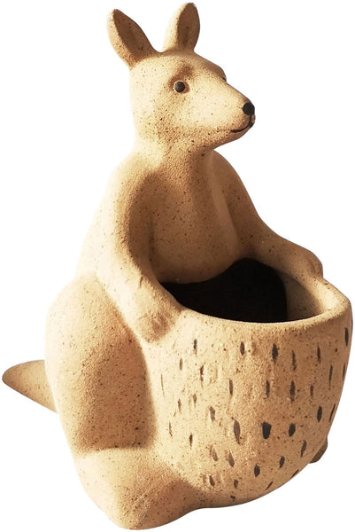 Urban Kangaroo Planter: Natural Medium