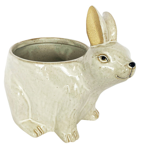 Urban Bunny Planter White Large
