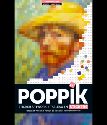 Poppik Pixel Art - Portrait of Vincent