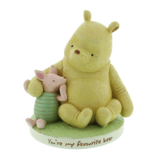 Classic Winnie the Pooh and Piglet Money Box