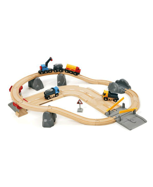 Brio Rail & Road Quarry Set