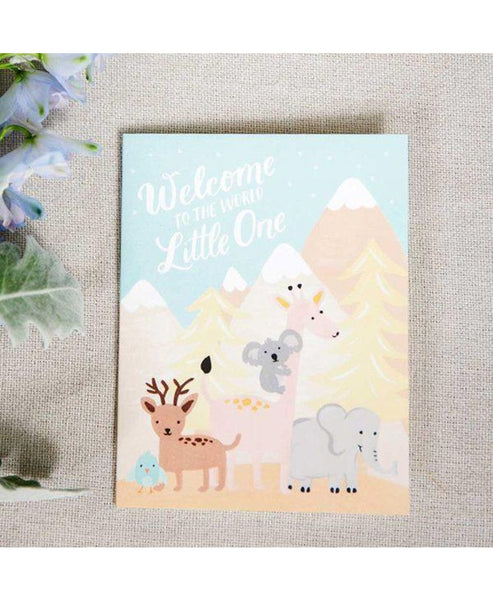 Fox & Fallow Welcome Little One Card