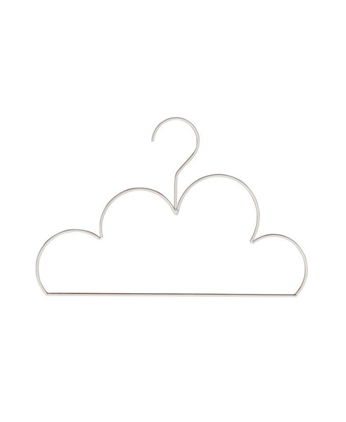 Down To The Woods - Cloud Coat Hanger Large, White ** SECOND **