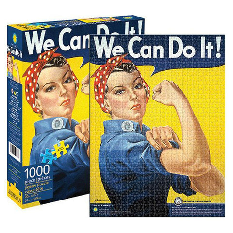"Smithsonian - Rosie Riveter ""We Can Do It' 1000 Piece Jigsaw Puzzle"