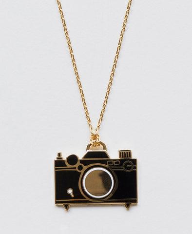 Yellow Owl Workshop Necklace Camera
