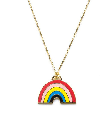 Yellow Owl Workshop Necklace Rainbow