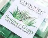 Candywick Summer Grass Wax Snap Bar