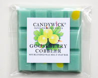 Gooseberry Cobbler Wax Snap Bar