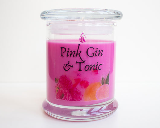 Pink Gin & Tonic Candle