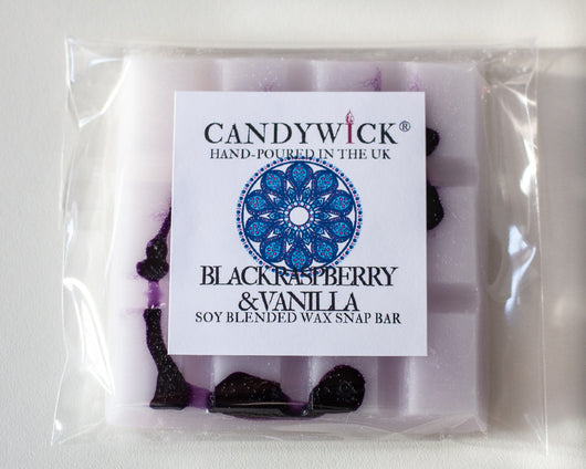 Black Raspberry & Vanilla Wax Snap Bar