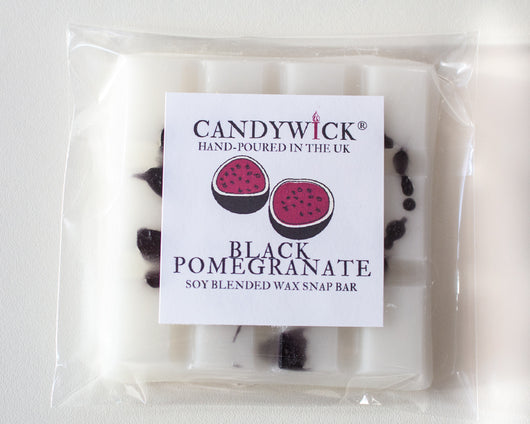 Black Pomegranate Wax Snap Bar