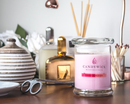 Cherry Bubblecake Candle