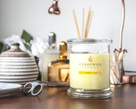 Sherbet Lemon Candle