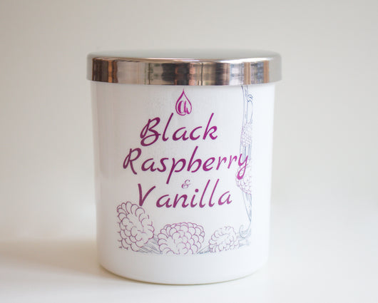 Black Raspberry & Vanilla Candle