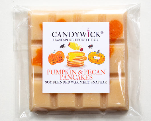 Pumpkin Pecan Pancakes Wax Snap Bar