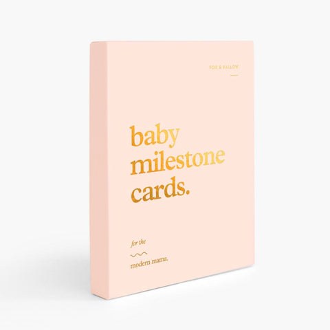 Baby Milestone Cards - SOLD OUT (PRE-ORDER FOR LATE FEB DROP)