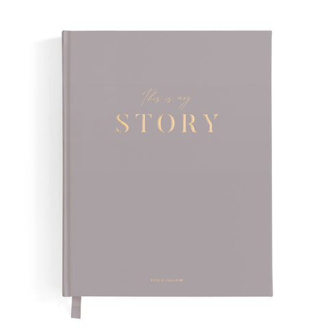 This Is My Story Memoir Journal