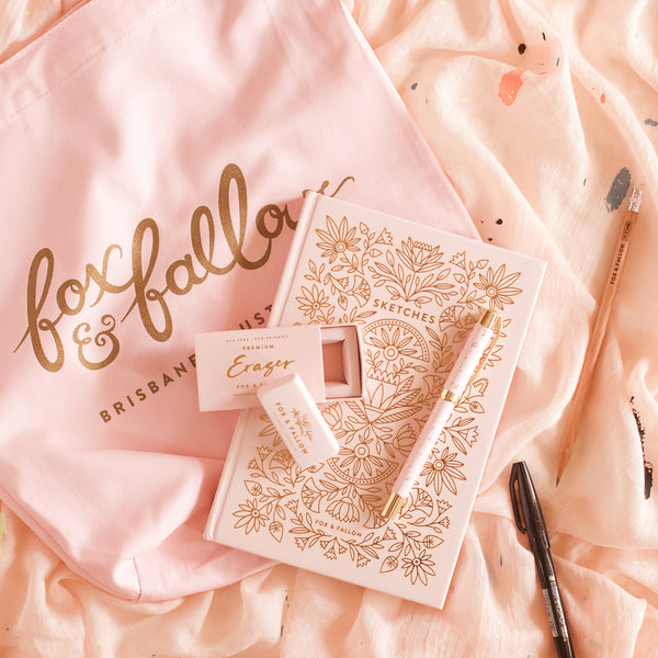 Lettering Starter Kit - Rose Quartz