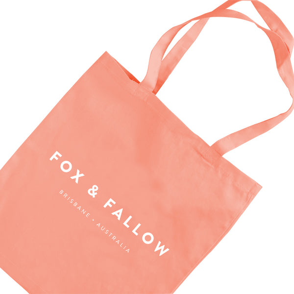 Fox & Fallow Cotton Tote Bag - Type