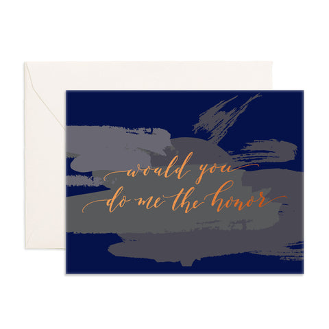 Do Me The Honor Greeting Card