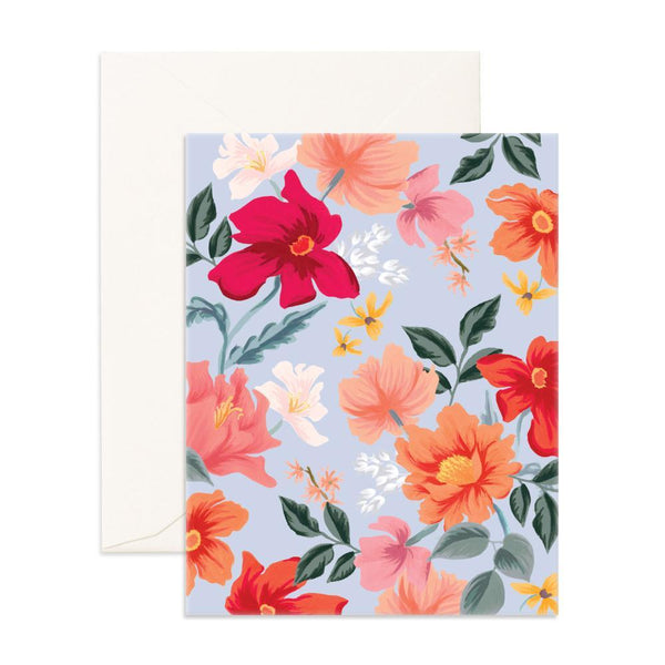 Bilberry Blank Greeting Card