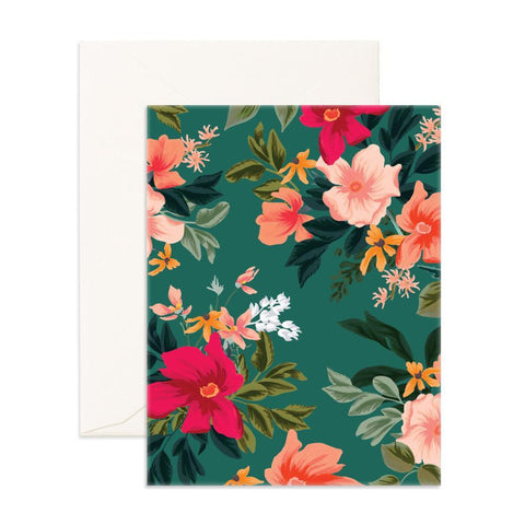 Wintergreen Blank Greeting Card