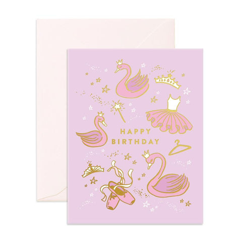 Happy Birthday Ballet Greeting Card