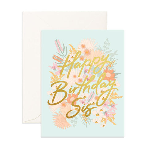 Happy Birthday Sis Greeting Card - Min. of 6 per style