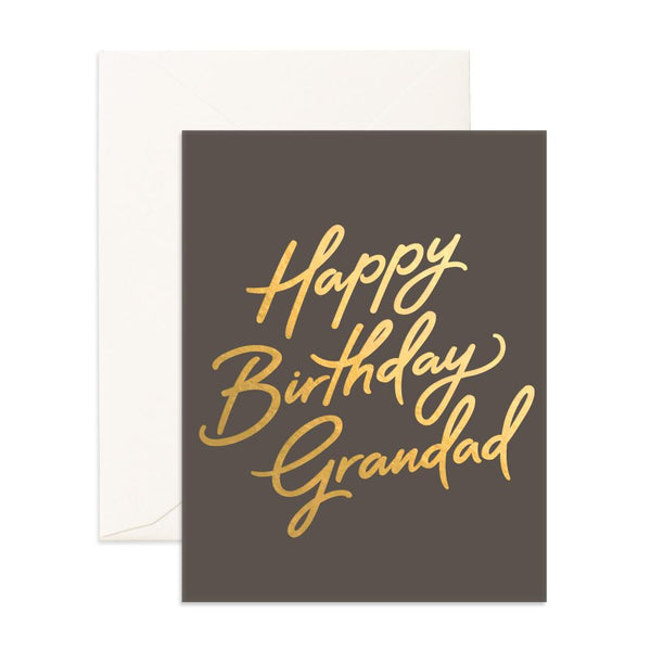 Happy Birthday Grandad Greeting Card