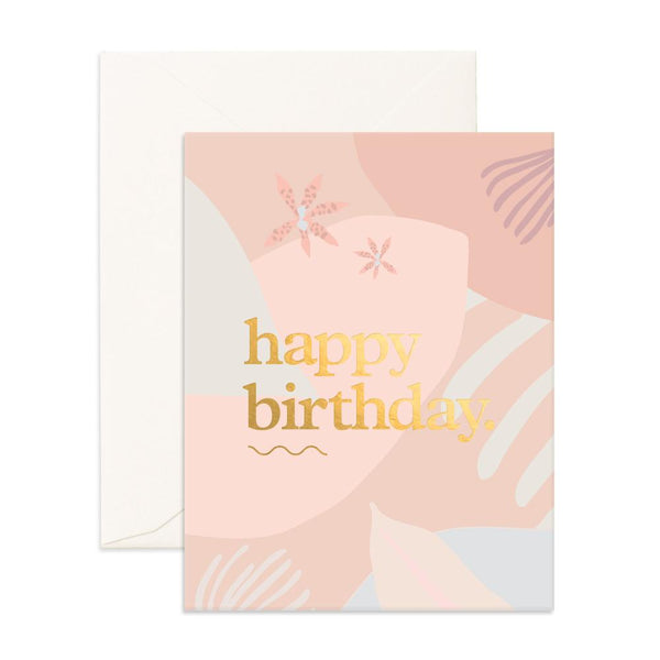 Happy Birthday Collage Greeting Card - Min. of 6 per style