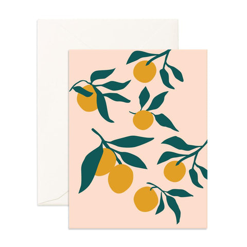 Muse Lemons Greeting Card - BACK ORDER (NEW STOCK ARRIVING JULY)