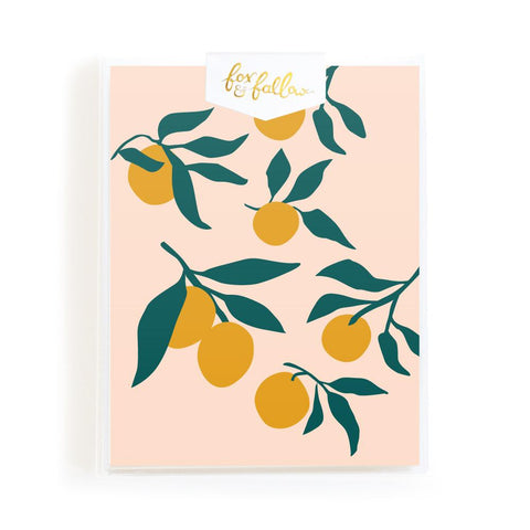 Muse Lemons Greeting Card Boxed Set - Min. of 4 per style