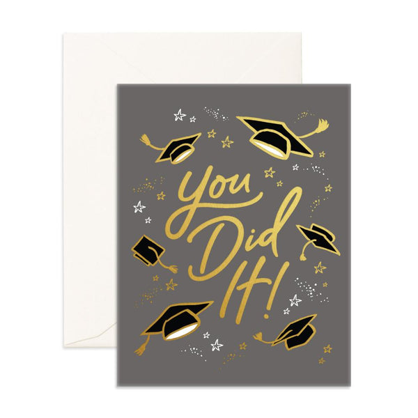You Did It Greeting Card - Low Stock