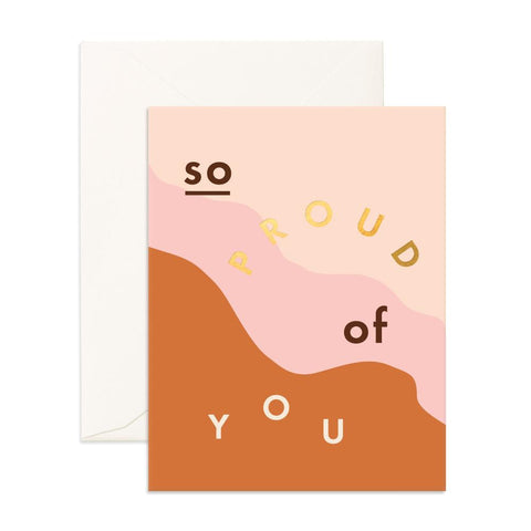 So Proud Of You Greeting Card - Min. of 6 per style