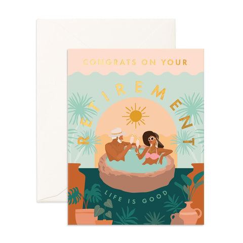 Congrats Retirement Greeting Card - Min. of 6 per style