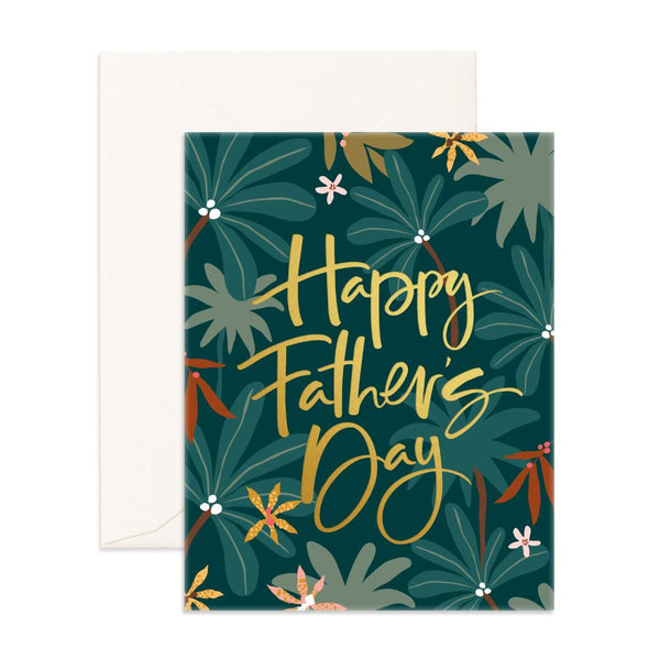 Father's Day Jungle Greeting Card
