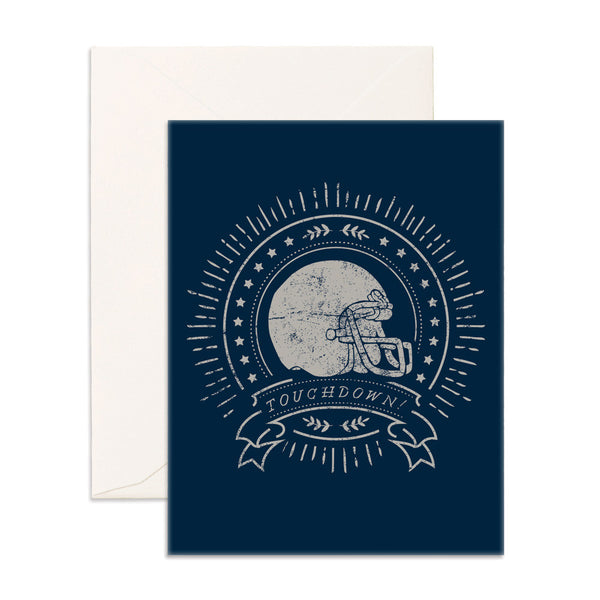 Touchdown Greeting Card