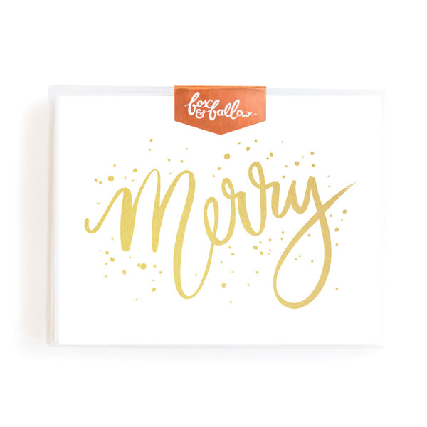 Merry Greeting Card Boxed Set
