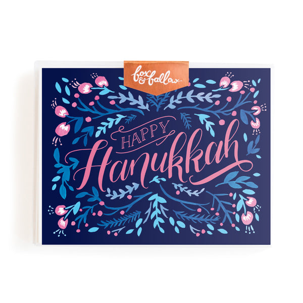 Happy Hanukkah Greeting Card Boxed Set