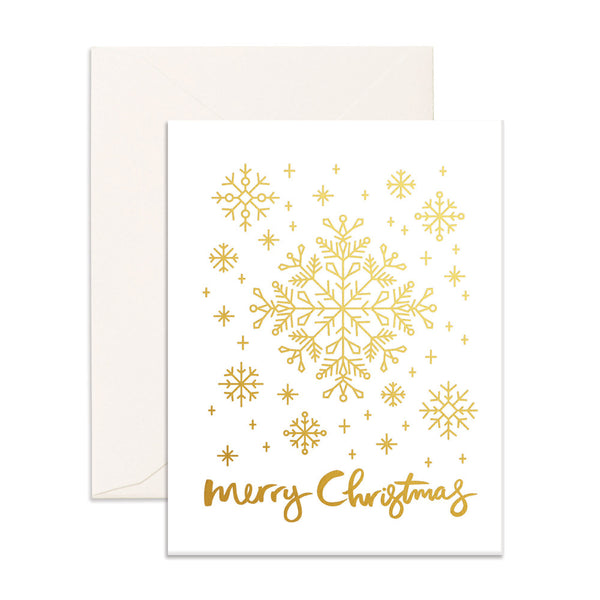 Christmas Snowflakes Greeting Card - SOLD OUT