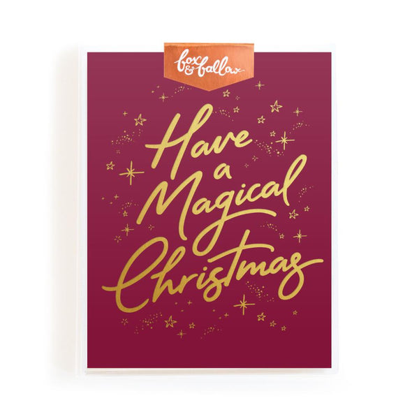 Magical Christmas Greeting Card Boxed Set