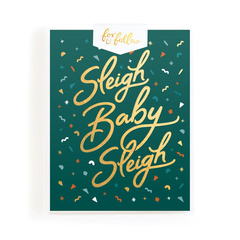 Sleigh Baby Sleigh Greeting Card Boxed Set